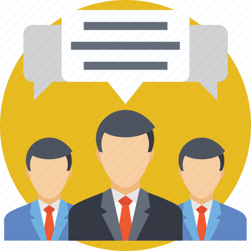 business discussion, business meeting, discussion., meeting, team icon