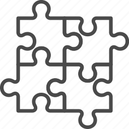 game, puzzle, team, teamwork icon