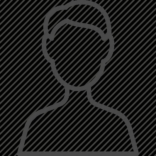 avatar, hr, human, man, people, resource, user icon