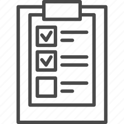business, check, checkbox, checklist, clipboard, document, list icon