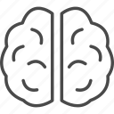 brain, brainstorm, creativity, health, medical, medicine, organ icon