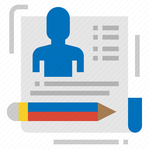 applicant, business, human, resources icon
