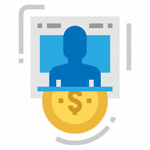 business, earnings, human, resources icon