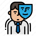 appearance, business, human, resources icon