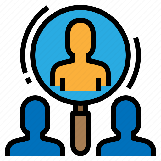 business, human, research, resources icon