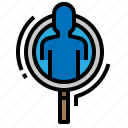 business, human, people, resources icon