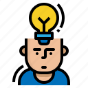 business, human, motivate, resources icon