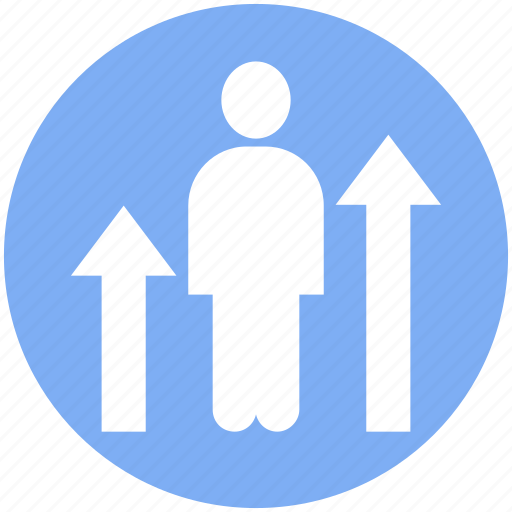 business, businessman, chart, graph, increase, management, statistics icon