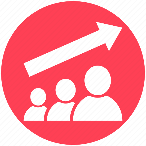 business, businessman, chart, finance, graph, human, management icon