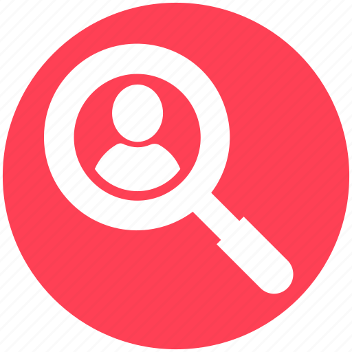 employee, find, human, human resources, search, user, vacancy icon