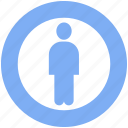 account, avatar, human, man, person, profile, user icon