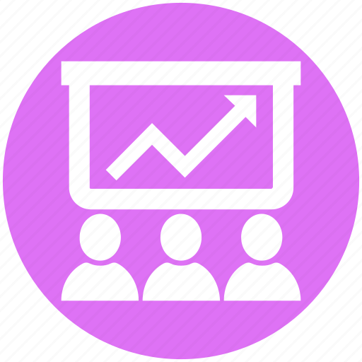 Business, group, group meeting, meeting, presentation, team icon - Download on Iconfinder
