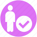 candidacy, human, human resource, job, resource, vacancy icon