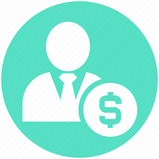 customer, dollar, finance, human, money, person, user icon