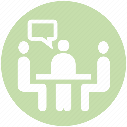 business, focus, group, group meeting, meeting, office, team icon
