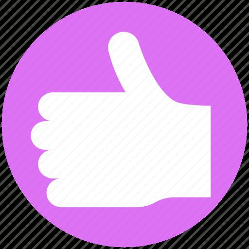 hand, left, like, media, social, thumb, thumbs up vote icon