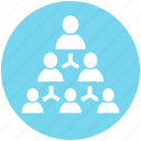 business, connection, group, men, people, structure, users icon