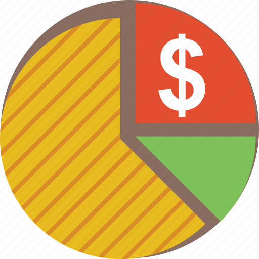 business graph, financial, graph, pie chart, pie graph icon