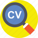 curriculum vitae, cv, hiring, recruitment, resume