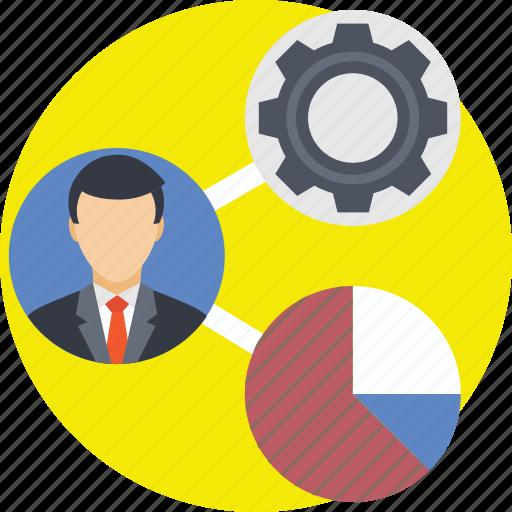 Business management, businessman, management, manager, project management icon - Download on Iconfinder