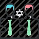 jigsaw puzzle, businessman, employee, permanent recruitment, play, worker