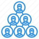 business, collaboration, cooperate, group, team icon