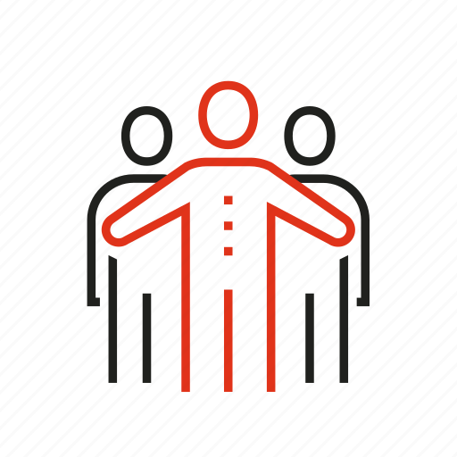 affiliate, director, human, leadership, partnership, people, resource icon