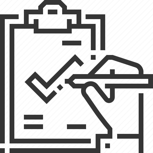 administration, check mark, clipboard, managed service, sign, work icon