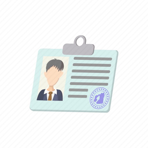badge, contact, identity, male, message, name, template icon