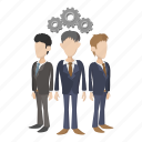 business, cartoon, concept, job, people, team, teamwork icon