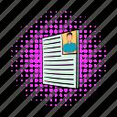 business, comics, cv, employment, job, photo, resume
