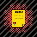 award, benefit, bonus, business, comics, reward, success icon