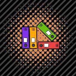 business, comics, document, file, folder, office, paper icon