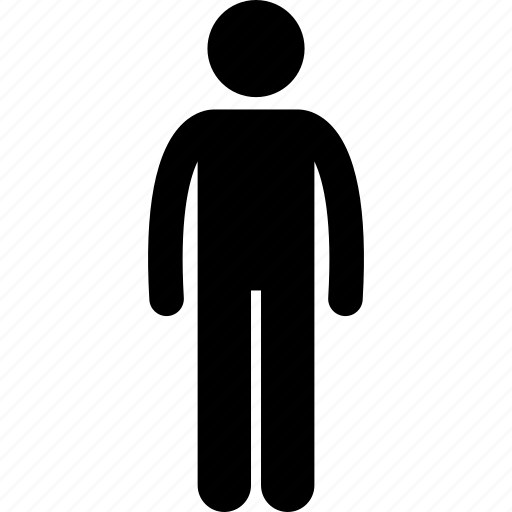 Man, person, standing icon - Download on Iconfinder