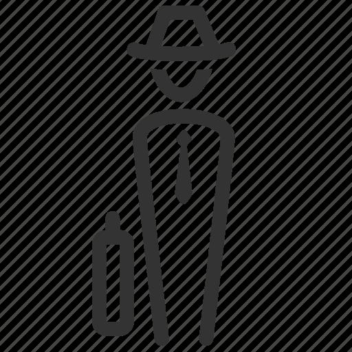 businessman, human, male, man, person, salesman, user icon