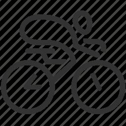 bicycle, bike, biking, cycling, cyclists, human, sport icon