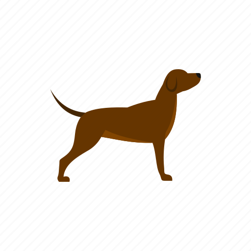 animal, concept, cute, dog, drawing, pet, puppy icon