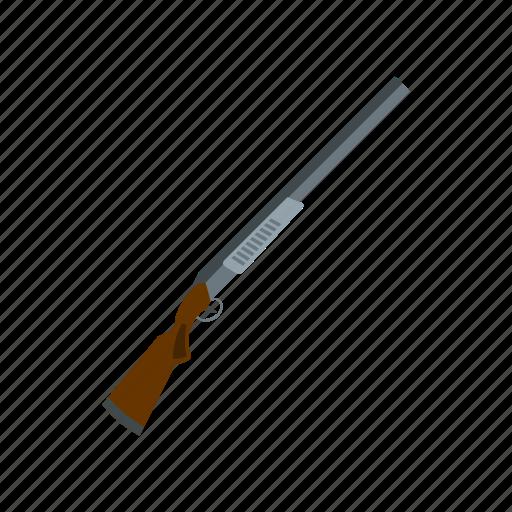 gun, hunter, metal, shotgun, sport, trigger, weapon icon