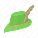 cap, cartoon, clothing, hat, hunt, hunting, safari icon