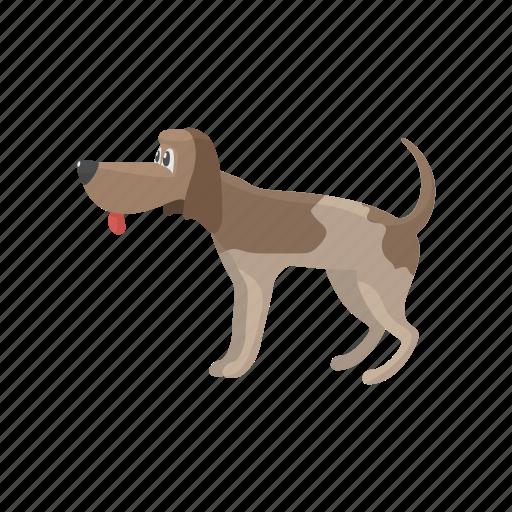 cartoon, cute, dog, gundog, hound, pointer, shorthaired icon
