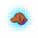 animal, canine, comics, dog, hunting, pet, retriever icon