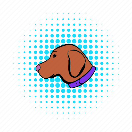 animal, canine, comics, dog, hunting, pet, retriever icon