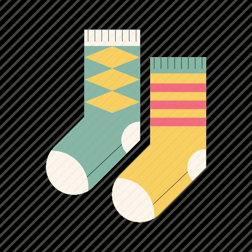 christmas, cozy sock, heartwarm, homelike, knitted, warm, winter icon