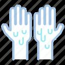 hand, hygiene, wash, washing, wet icon