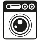 clean, electronic, hygiene, washer, washing machine icon