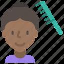 avatar, comb, hair, hygiene, hygienic, person