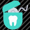 dental, dentist, floss, flossing, hygiene, hygienic