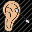 bud, buds, clean, cotton, ear, hygiene, hygienic icon