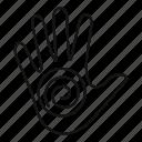 circle, hand, hypnosis, hypnotist, illusion, psychedelic, spiral