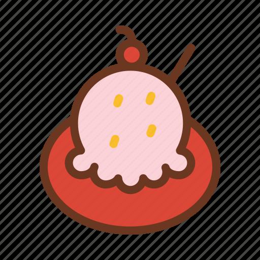 cold, cream, dessert, food, ice, summer, sweet icon